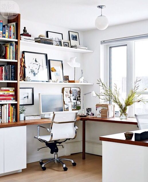 Clean Lines Office Home Office Design Home Office Space Home Office Decor