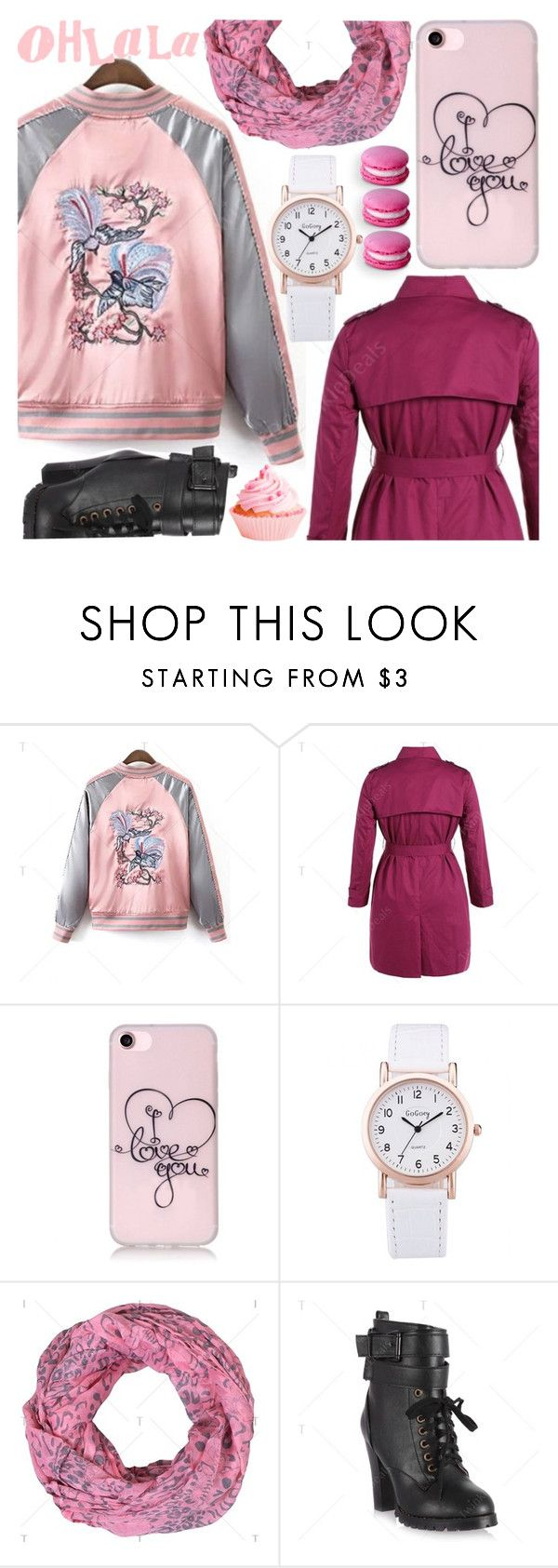 """""""Sweet style: Bomber jacket"""" by pastelneon ❤ liked on Polyvore"""