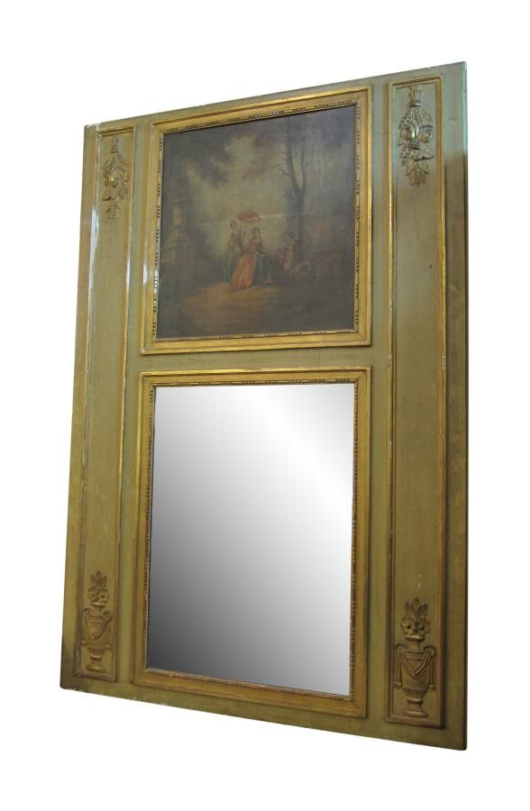 Olive over mantel with mirror & painting | Mirrors | Pinterest ...