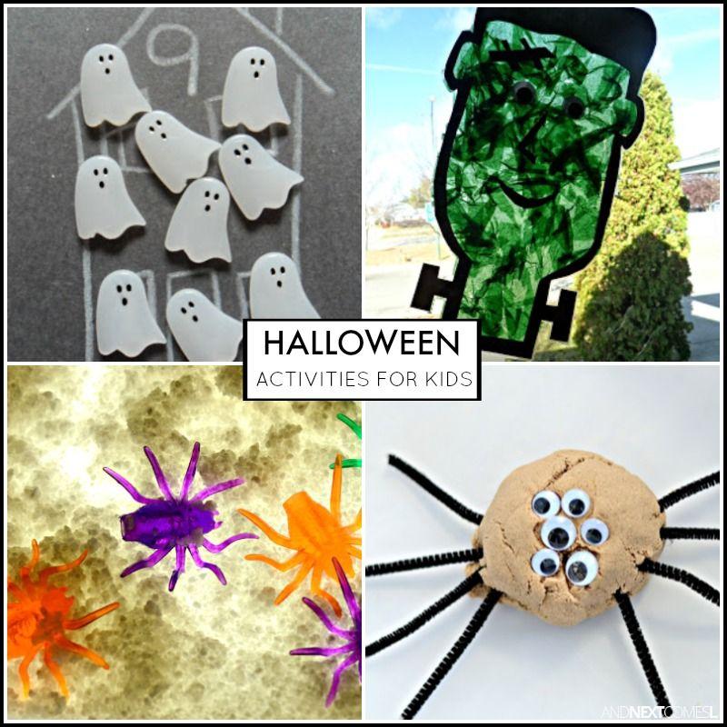 Halloween Activities for Kids - halloween activities ideas