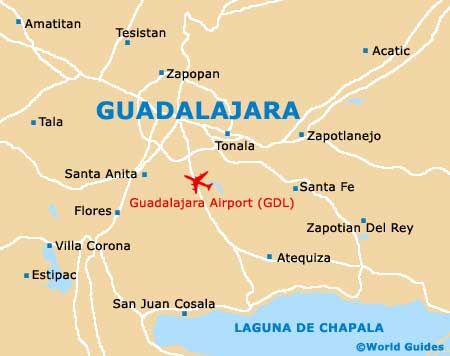 Guadalajara Mexico Guadalajara Maps And Orientation