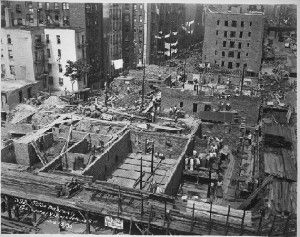 Construction Of First Houses At Avenue A And 3rd Street This