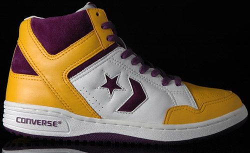 1b680f2c12 Magic Johnson's shoes. Converse ruled in the 1980s. Magic & Larry wore 'em.