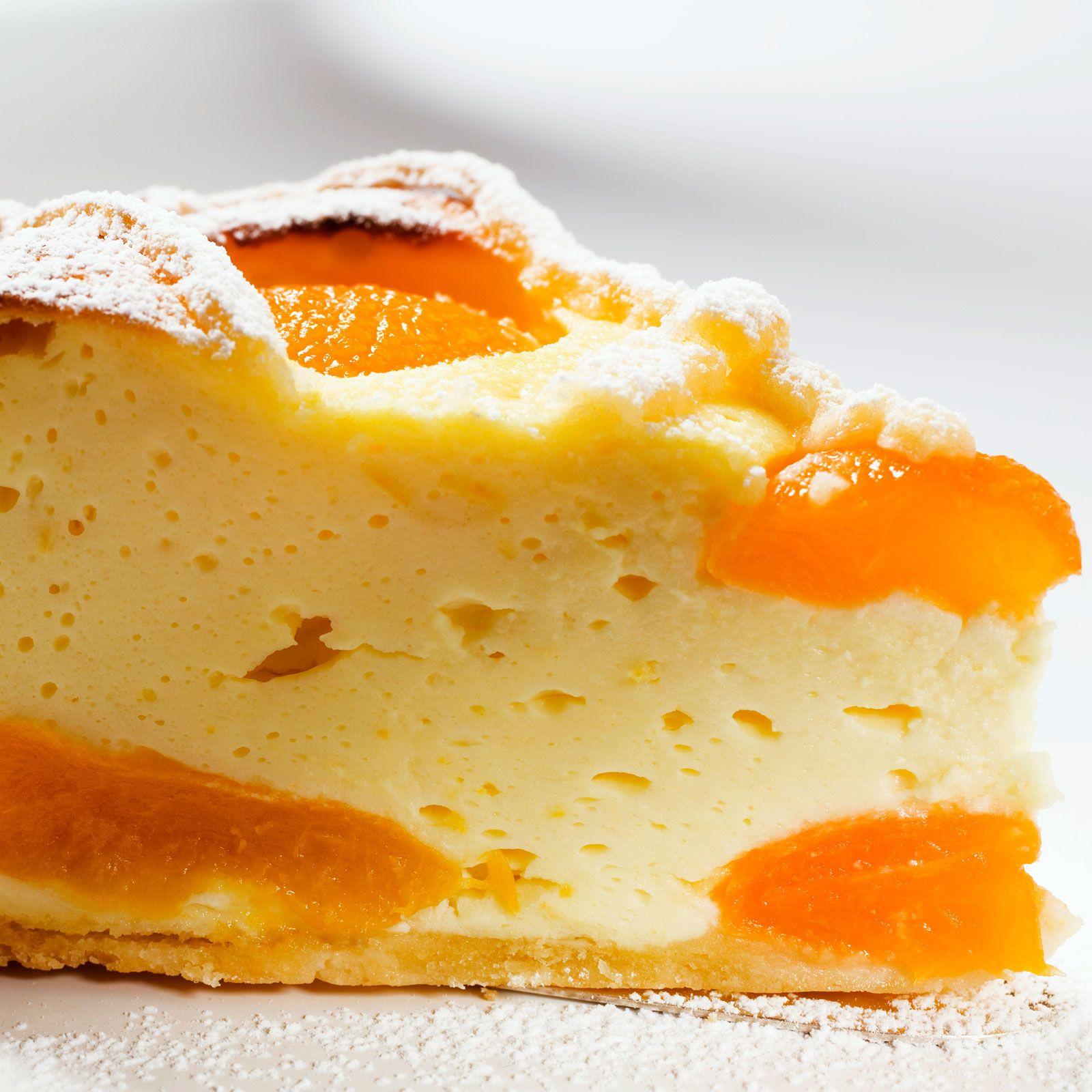 cheesecake aux oreillons d 39 abricots recette les. Black Bedroom Furniture Sets. Home Design Ideas