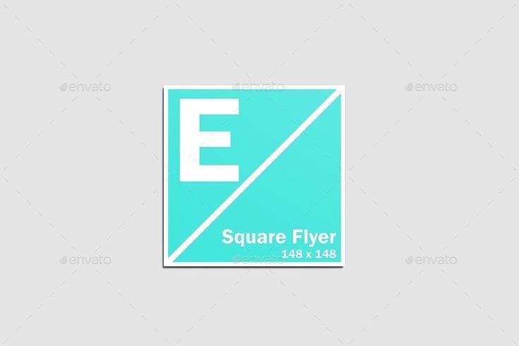 Square Flyer Mockup mock up mockup mockups stamp mockup up flyer psd psd ready mockup mockup