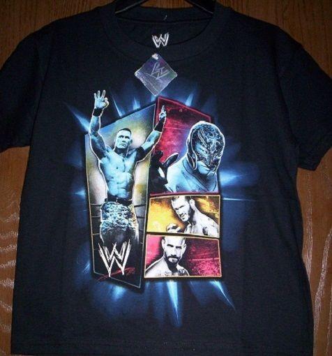 WWE Raw John Cena Ray Mysterio SWIM TRUNKS New Child 4-5 XS  BOY SHORTS