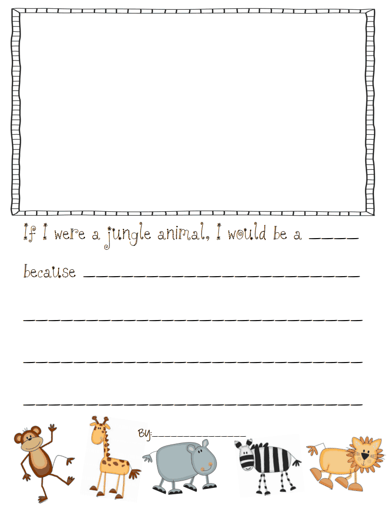 Jungle Book Activity Page
