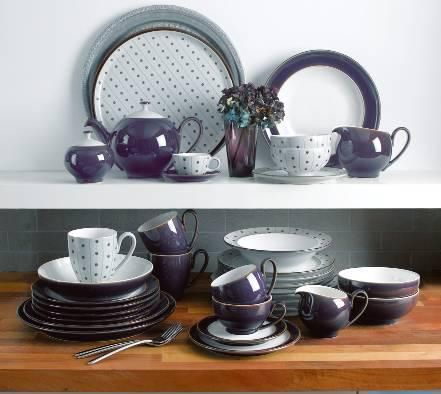 Denby Dinnerware Amethyst Collection - Dinnerware - Dining u0026 Entertaining - Macyu0027s Bridal and Wedding Registry & Denby u0027Amethystu0027   Kitchen   Pinterest   Amethysts