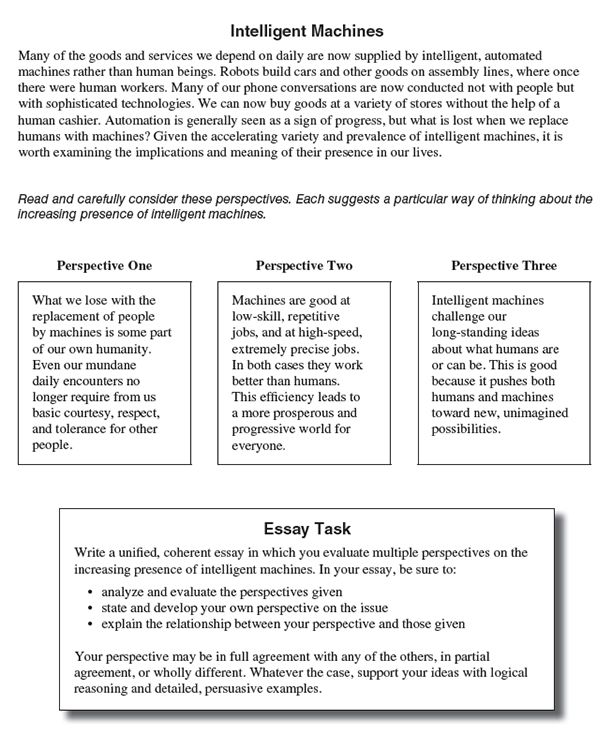 Practice Sat Essay Prompt Sample Prompts And Responses