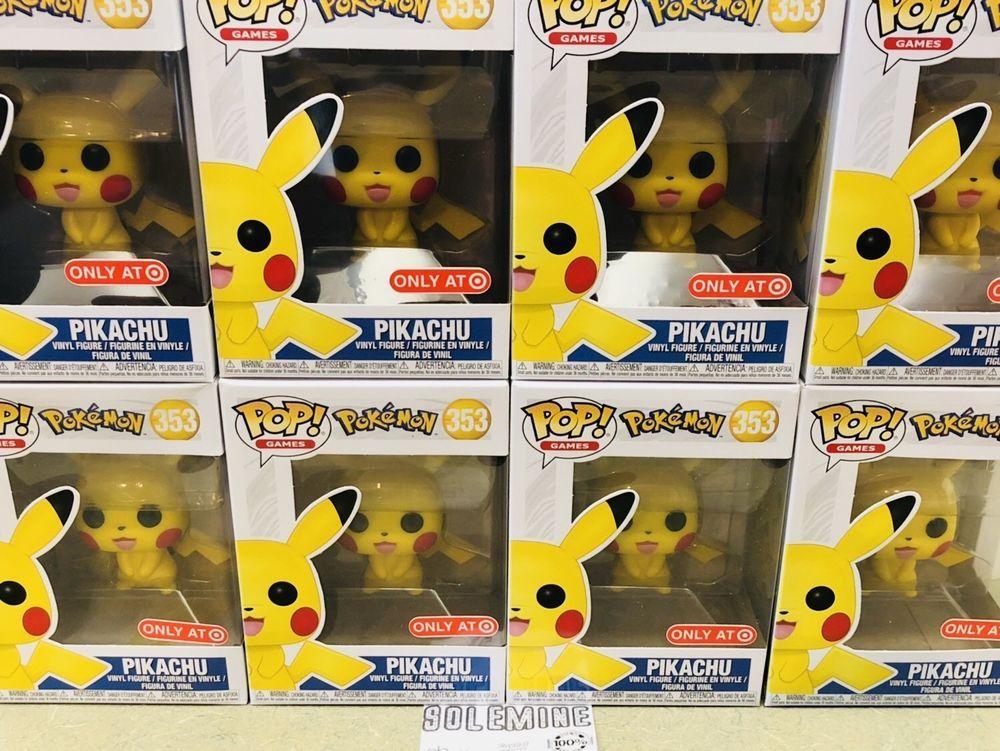 Pokémon Pikachu Target Exclusive 353 Funko Pop In Hand