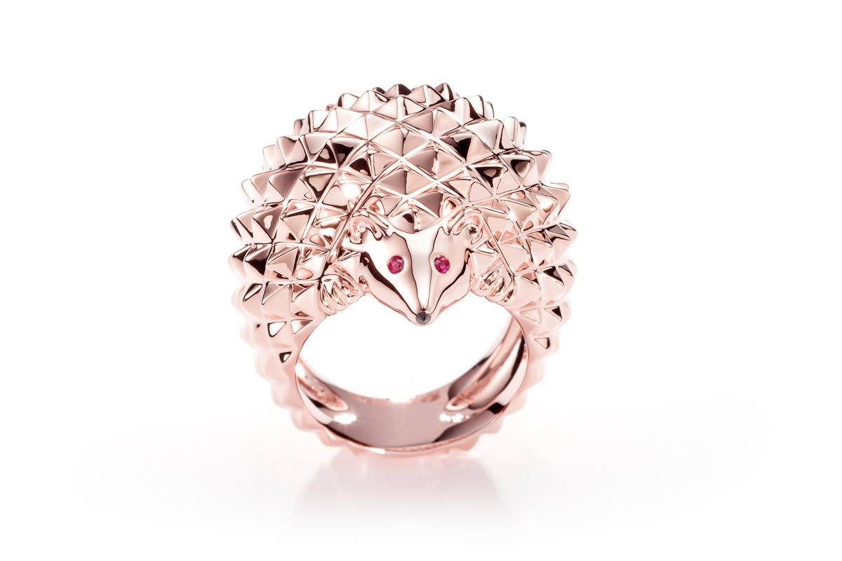 Hérisson Ring. - Boucheron | Animals | Pinterest | Hedgehogs, Black ...