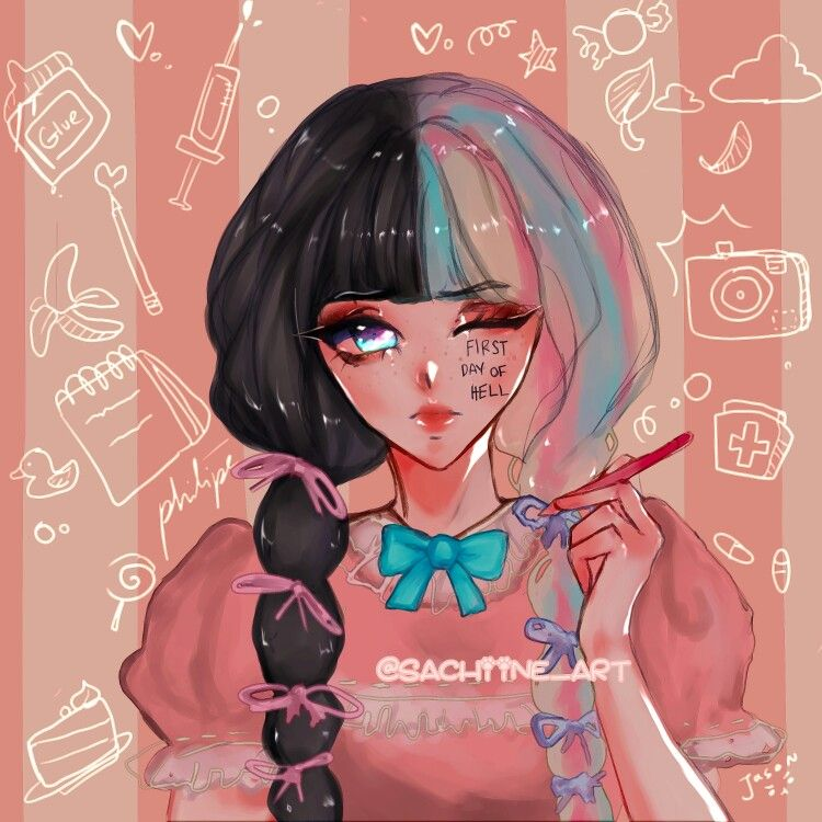 Pin On Melanie Martinez K 12 Fanarts
