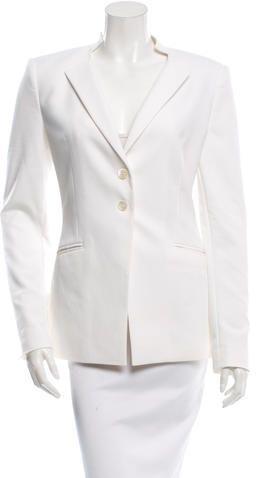 Tamara Mellon Casual Button-Up Blazer