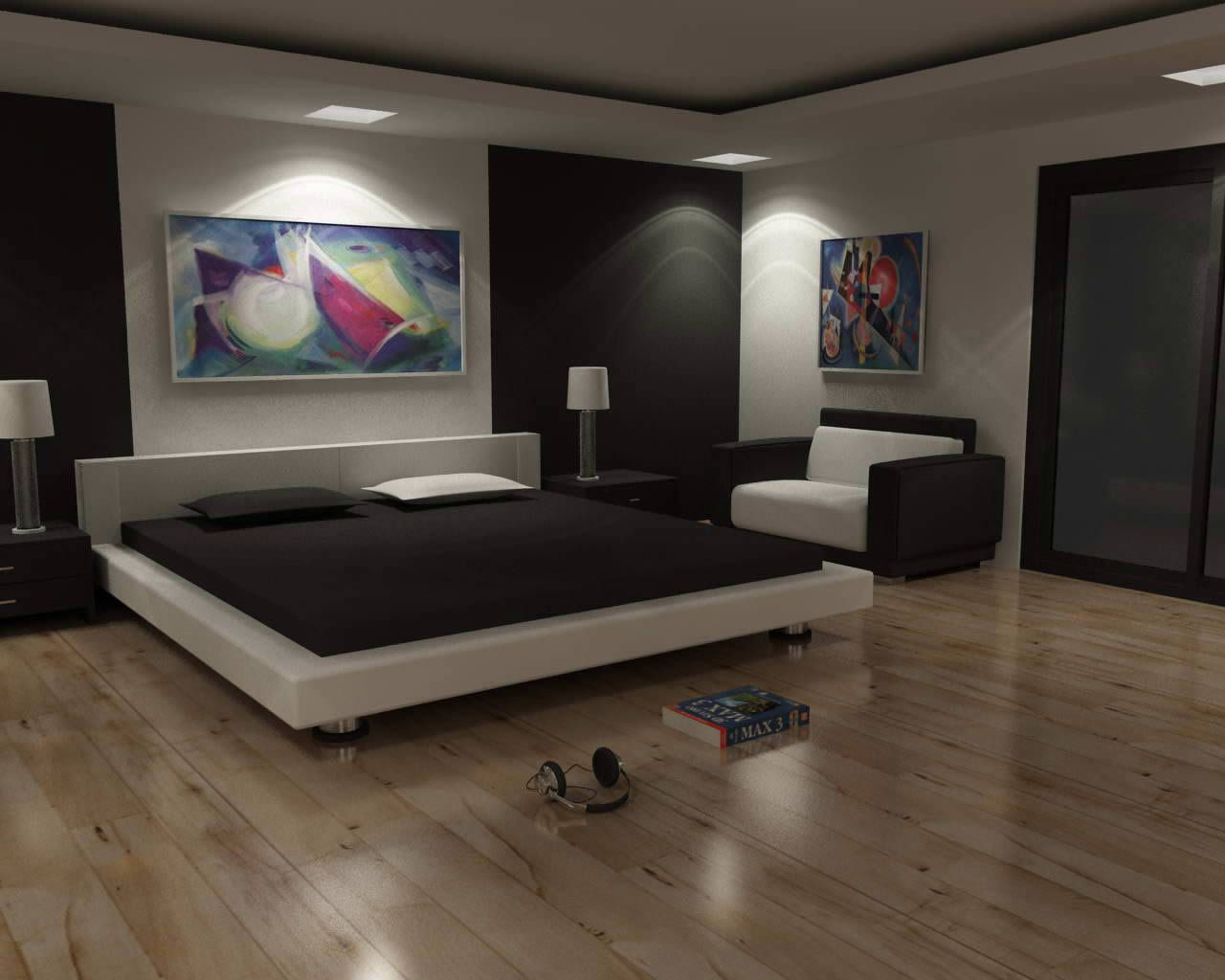 modern bed designs - Modern Interior Design Bedroom