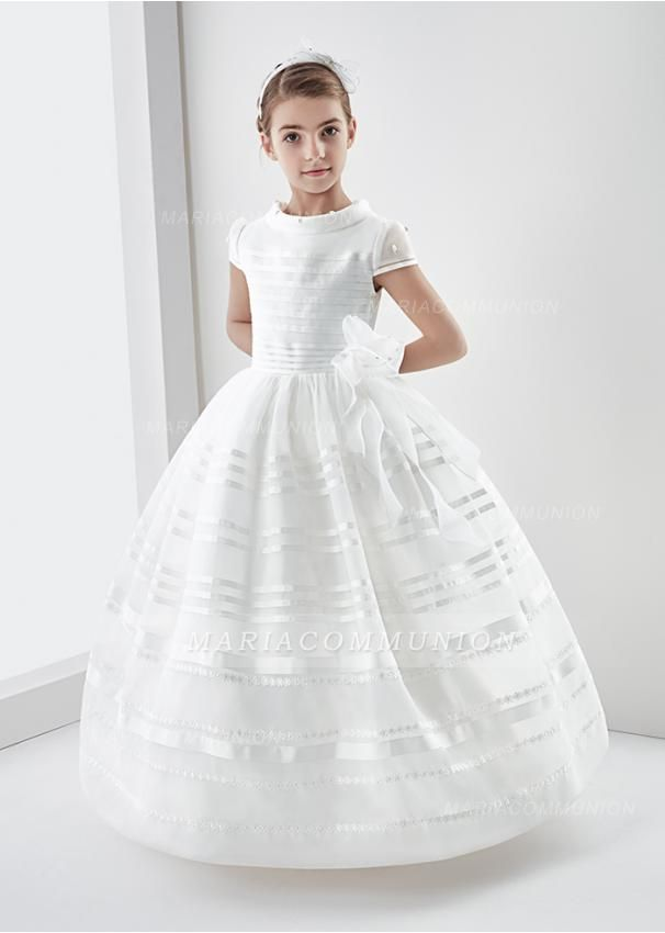 ece26fe3bd5 First Communion Dress With Beading