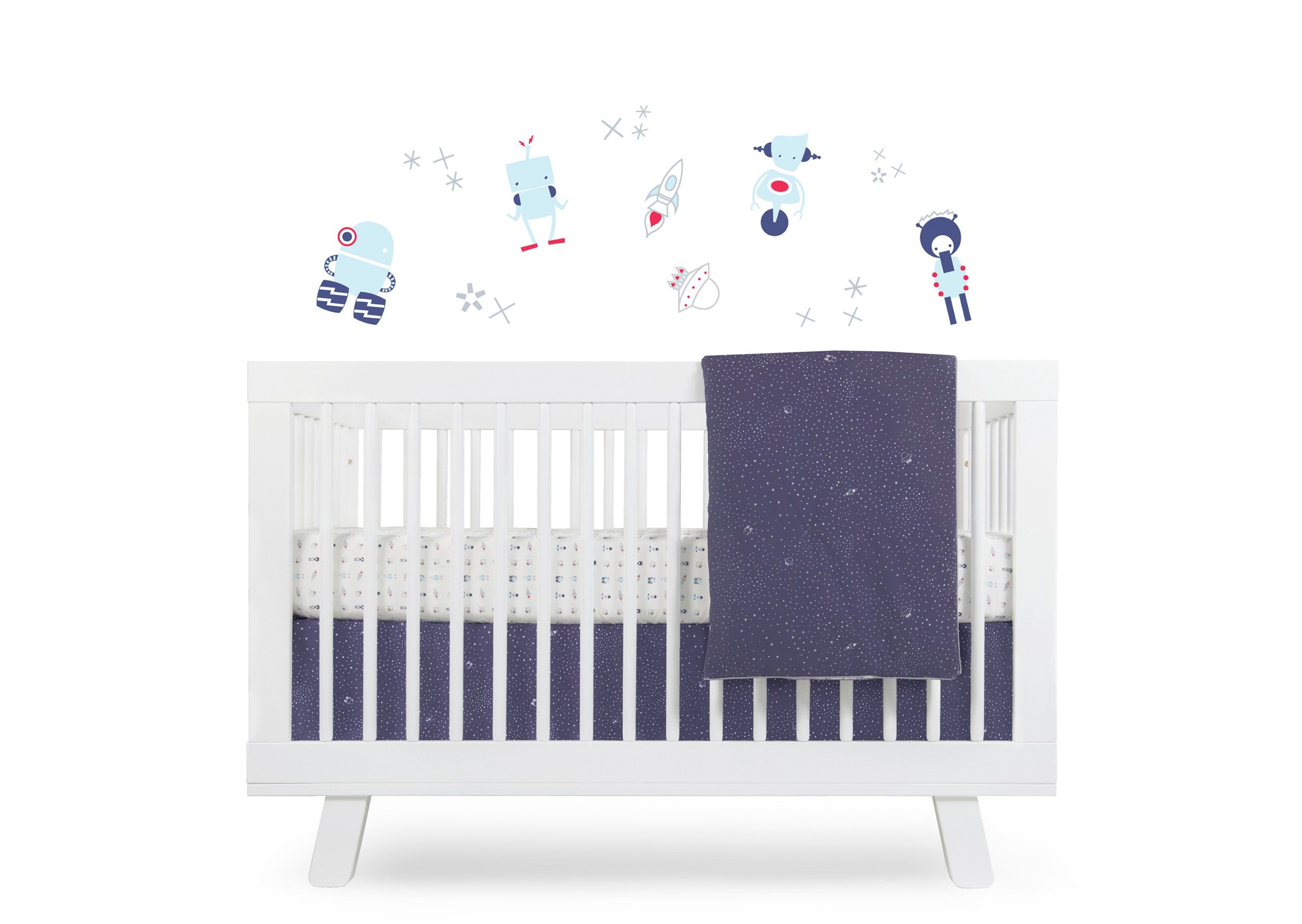 The repositionable GALAXY Wall Decals are the perfect