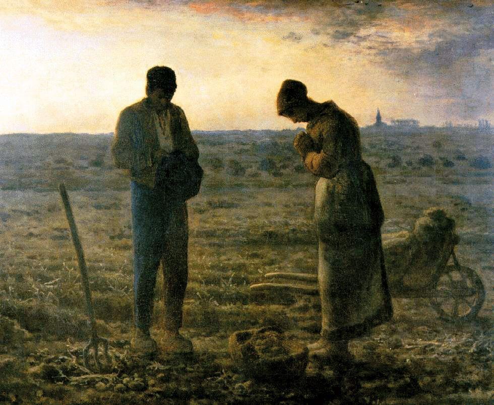 """Jean-François Millet, """"L'Angelus"""", 1857"""