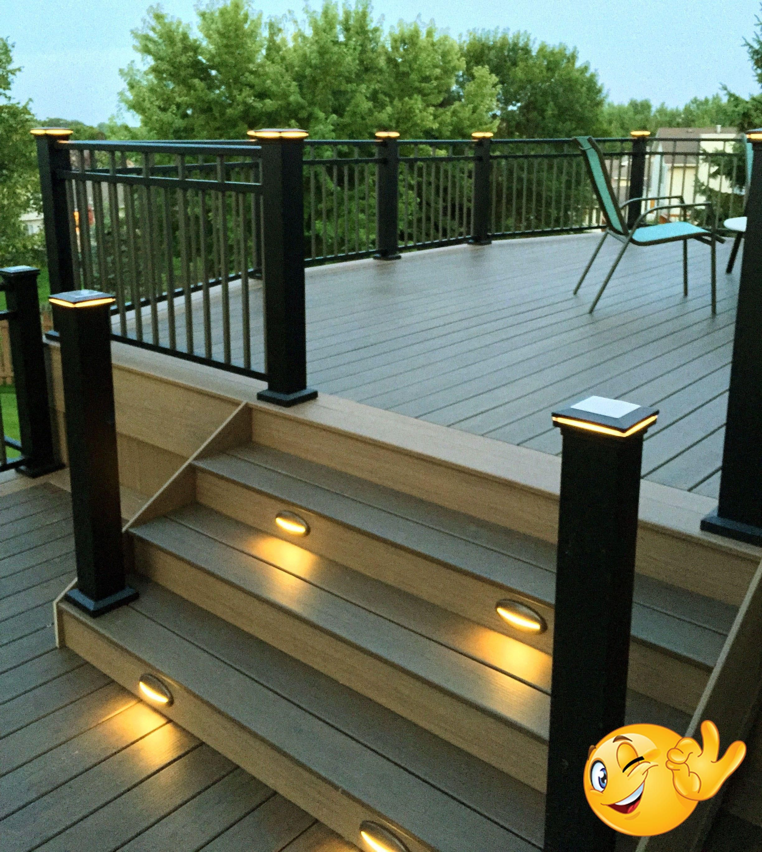 Crazy Deck Lighting Ideas Canada Only In Miral Iva Design N Boost With The Advent Of Solar Powered Led Systems A Simple Kit For 1 Or Multiple Lighting Point In 2020