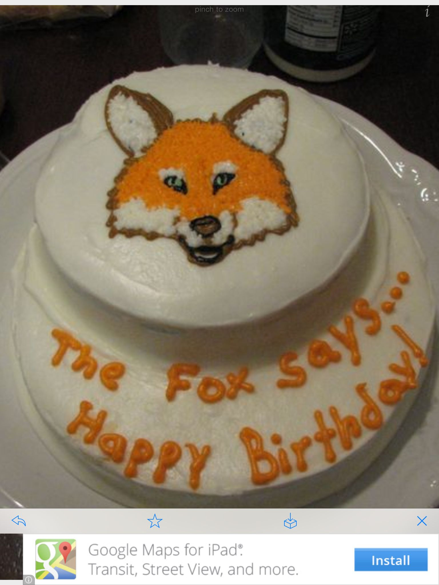 What Does The Fox Say Happy Birthday