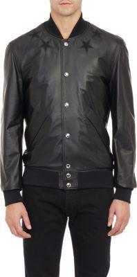GIVENCHY Lambskin Basketball Jacket. #givenchy #cloth #jacket