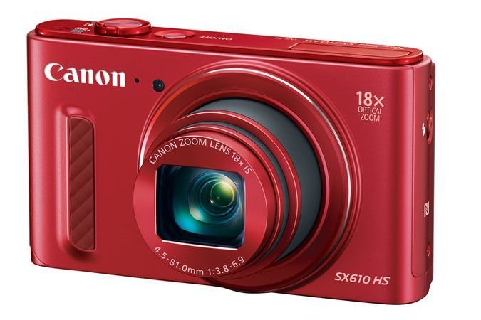 Canon Usa Powershot Sx610 Hs Kit (red)