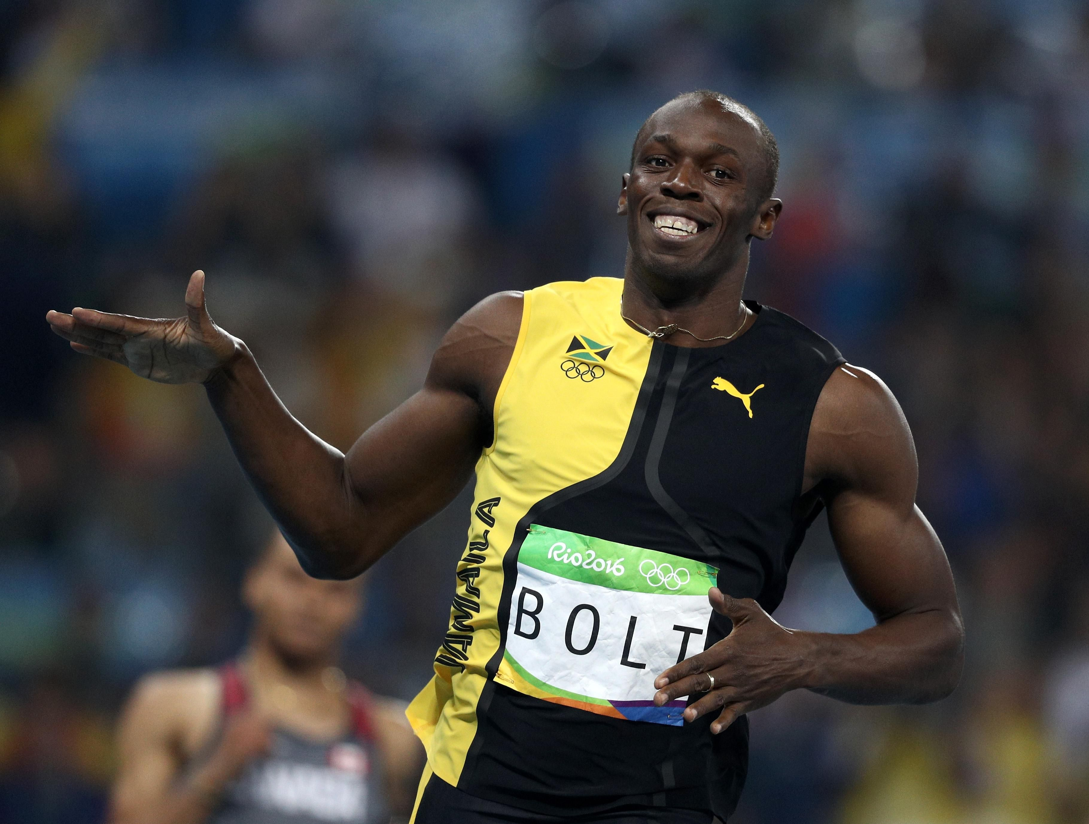 Usain Bolt Defends Title as World's Fastest Man in Rio ...
