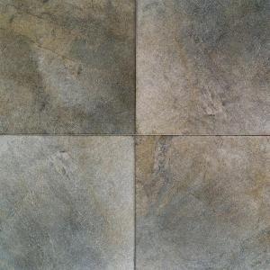 Daltile Portenza Verde Lago 17 In X 17 In Glazed Porcelain Floor