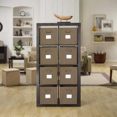 Bayside Furnishings Onin Room Divider with 8 Storage Baskets Cost