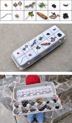Nature scavenger hunt - Cook - this blog has some fantastic stuff for the outdoorsy girls! :)