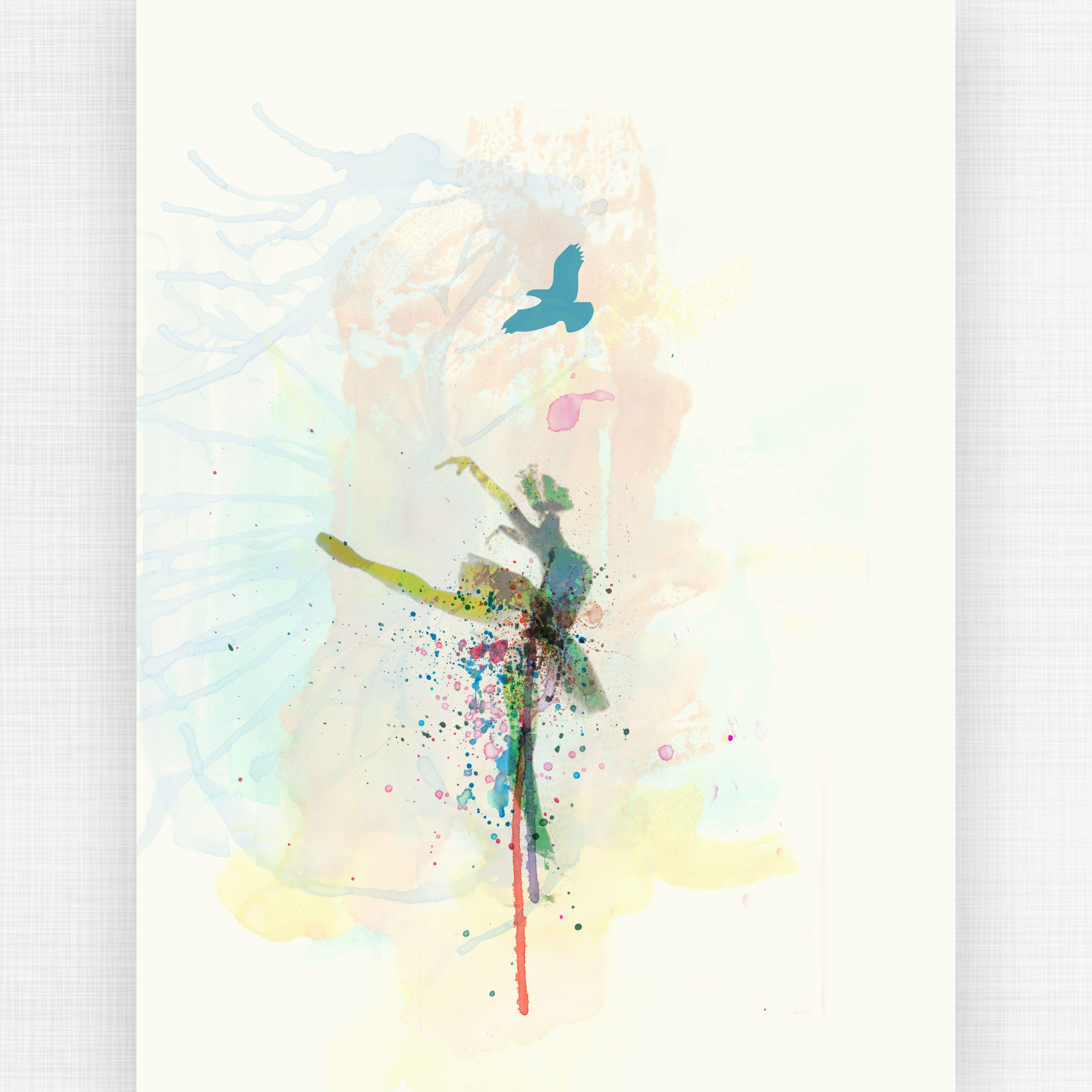 Ballerina 18x24 Print