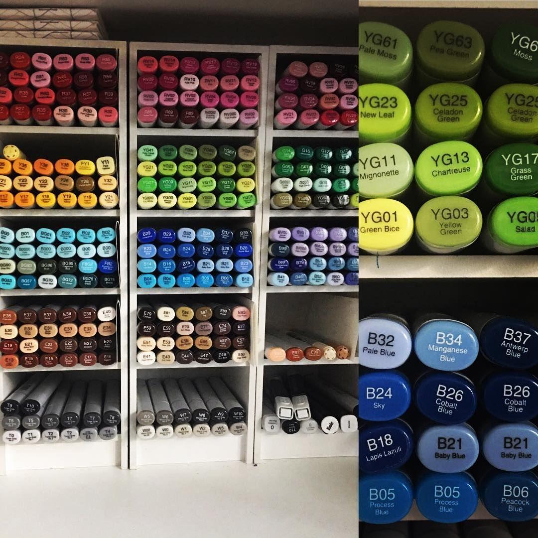 Craft paint organizer fits ikea marker storage paint