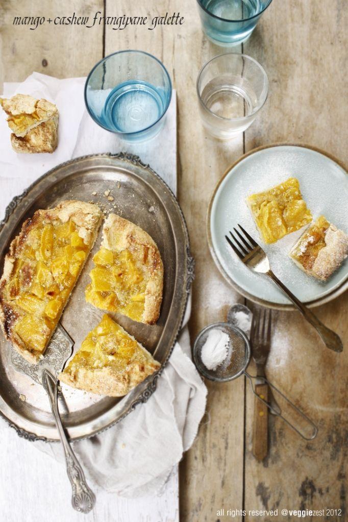 Mango & Cashew Frangipane Gallette