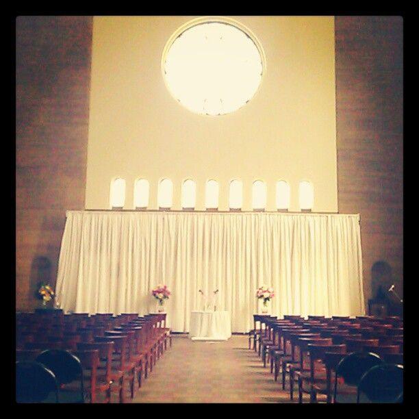 Pretty wedding venue set up! Via Twitter user @Conradderrs  http://t.co/CsxApD83