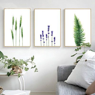 Tremendous Watercolor Plants Leaves Flower Canvas Poster Prints Download Free Architecture Designs Intelgarnamadebymaigaardcom