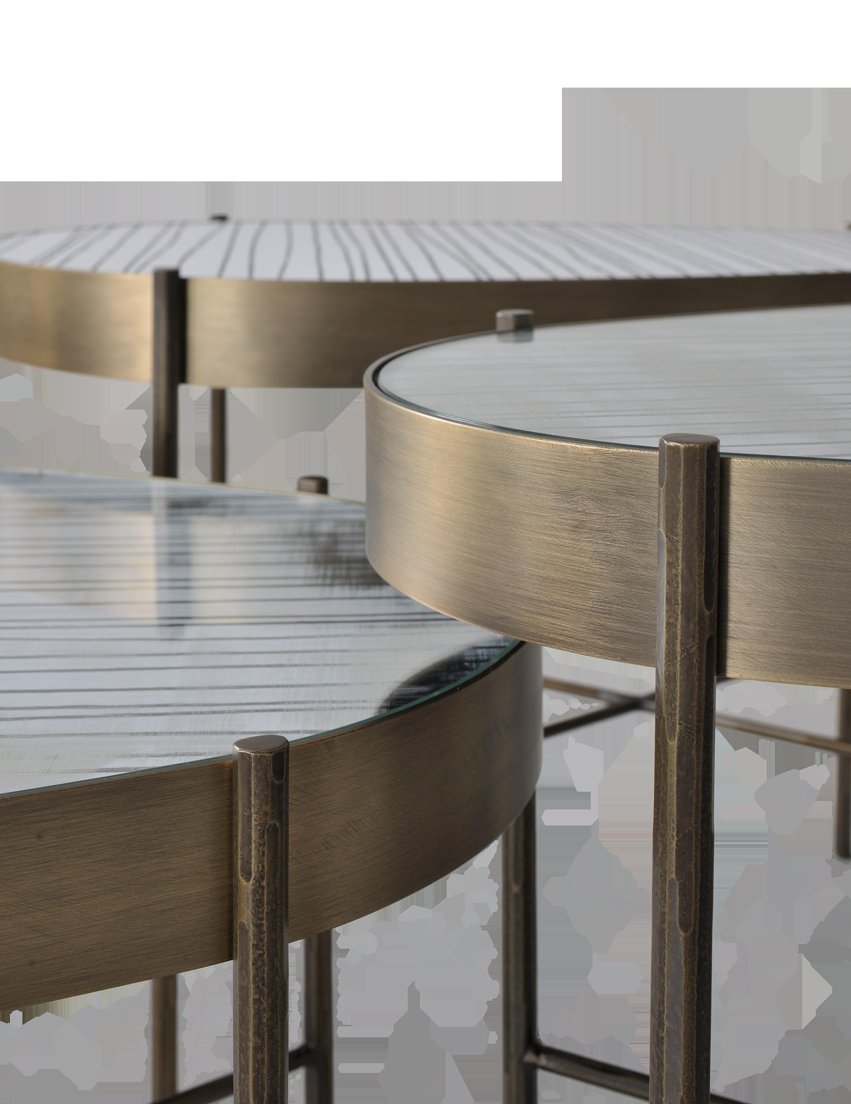 Nelson side table detail design by Gian Paolo Venier x Airnova