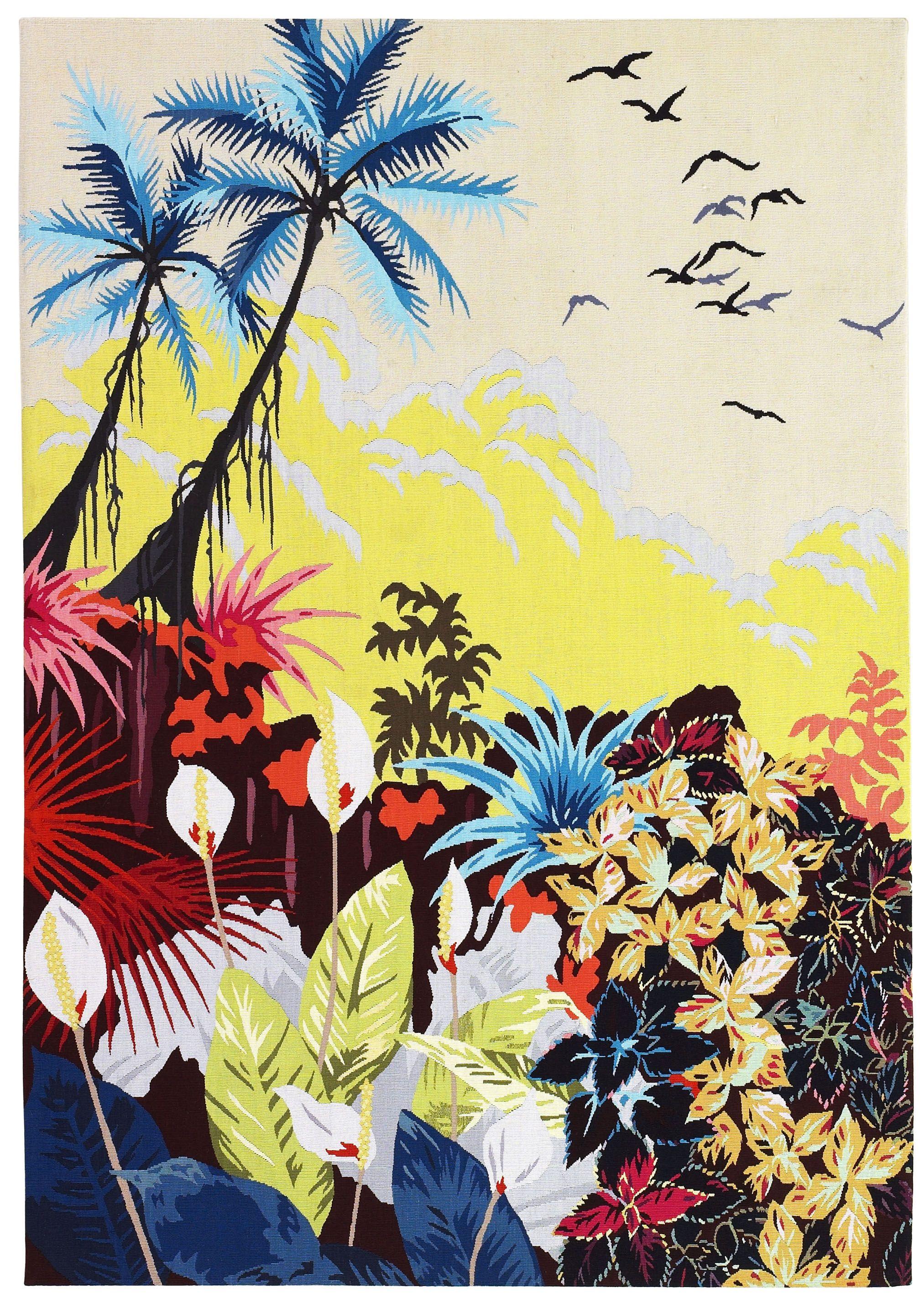 Trend Alert: Tropical Motifs | Wall hangings, Verandas and Concept art