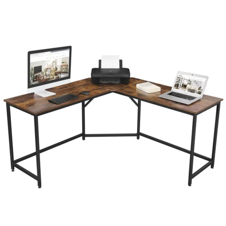 Wayfair S End Of Year Clearance Includes Stylish Wfh Desks And Chairs For Up To 60 Percent Off L Shaped Desk L Shape Desk Desk