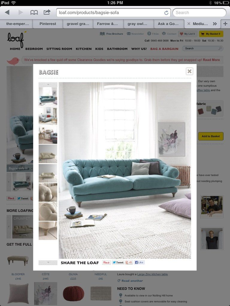 Help Me Find My Dream Sofa Stateside?  Good Questions