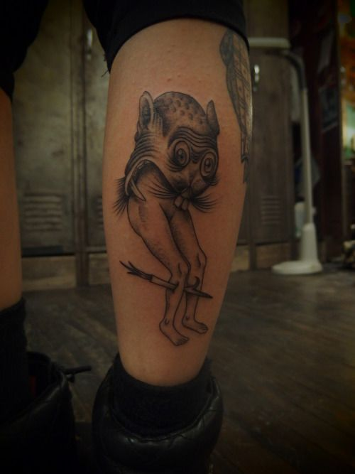 Kim Rense Based On Hieronymus Bosch Creature For Sheal Done At East