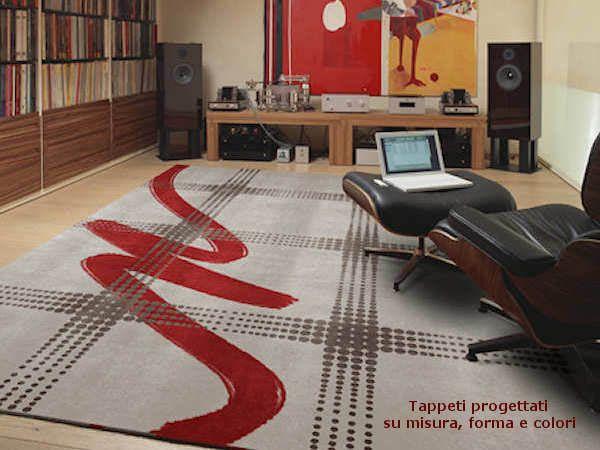 Art Design tappeto - Burri ispirazione • Progettazione Tappeti ...