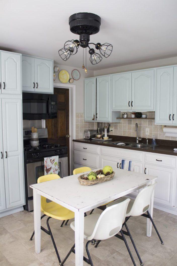 kitchen (after) farmhouse kitchen facelift // Dannette Gora | row+harlow interior design