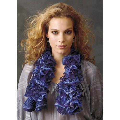 Free Ruffle Scarf Knitting Pattern Follow This Free Knit Or