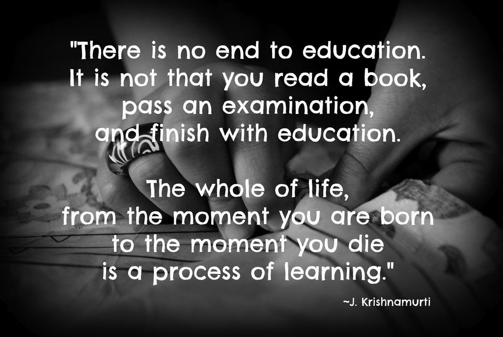 Lifelong Learning Quotes Impressive Life Long Learning  Learning Quotes