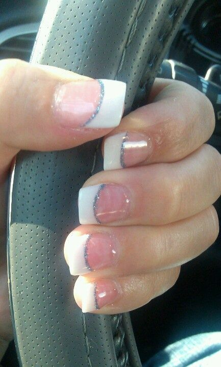 Cool 15 Popular French Manicure Designs Nails Pinterest French