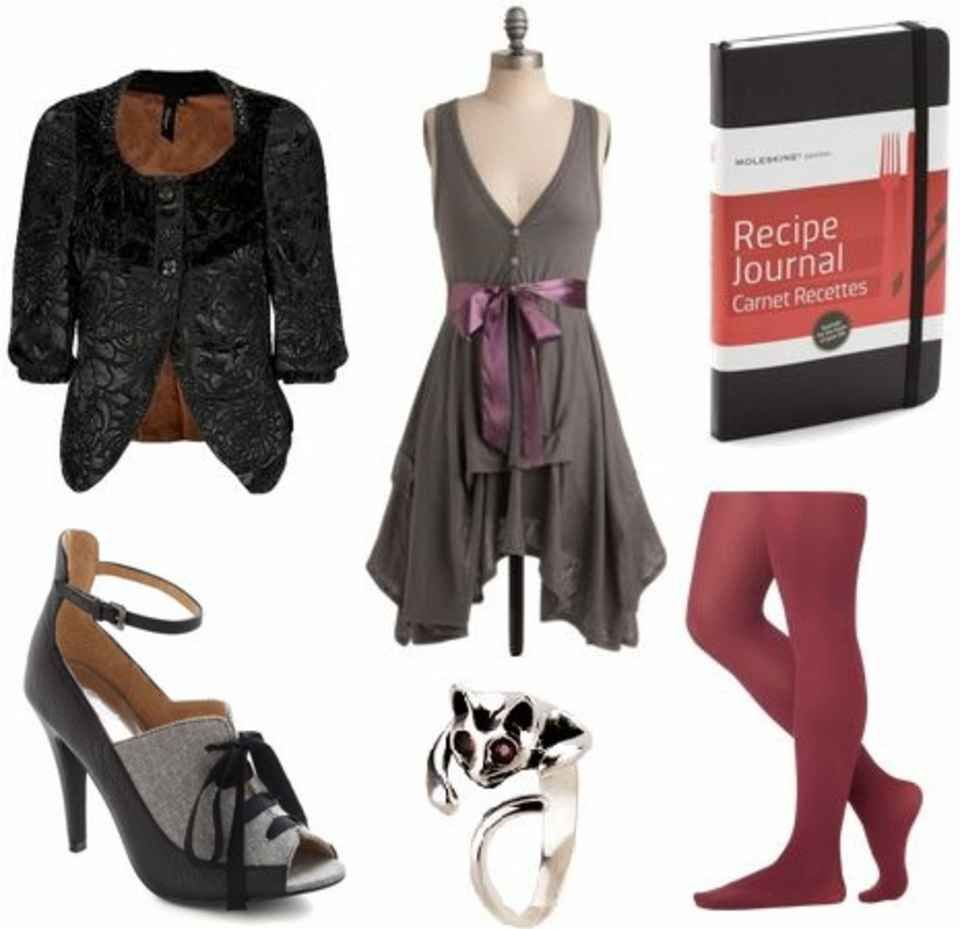 Fashion inspired by Mrs. Lovett from Sweeney Todd