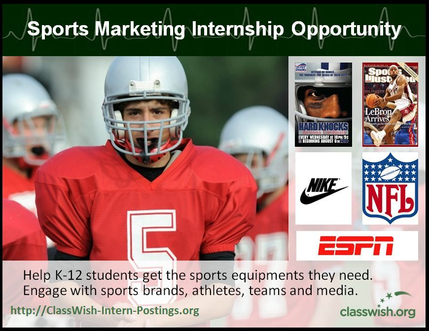 Read about our Sports Marketing internship! (With images