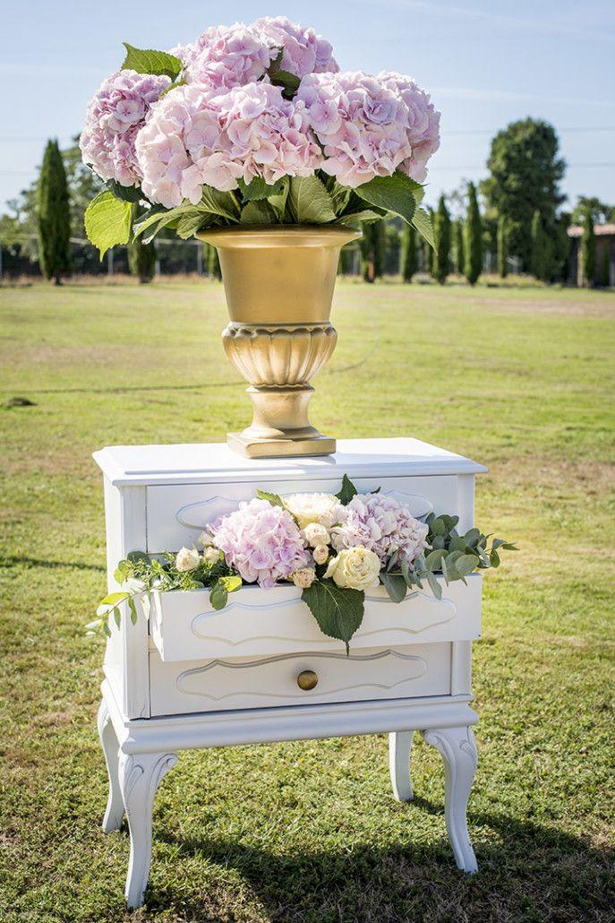 Una boda con aires románticos