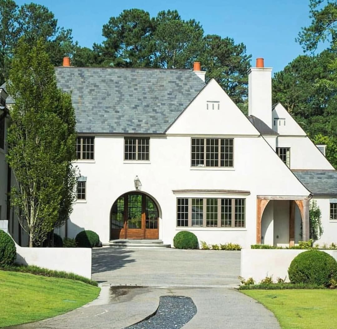 Repost Via Ansleyatlanta A Beautiful Voysey Inspired English Country Home By Bradley Heppner Cur English Country House Arts And Crafts House House Exterior