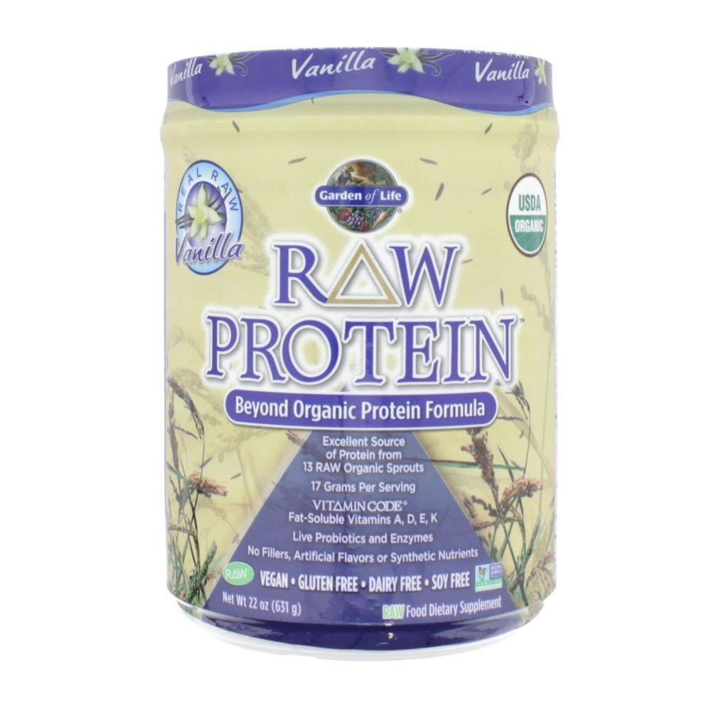 Garden Of Life Raw Protein Vanilla 22 Oz 631g Gardenoflife Best