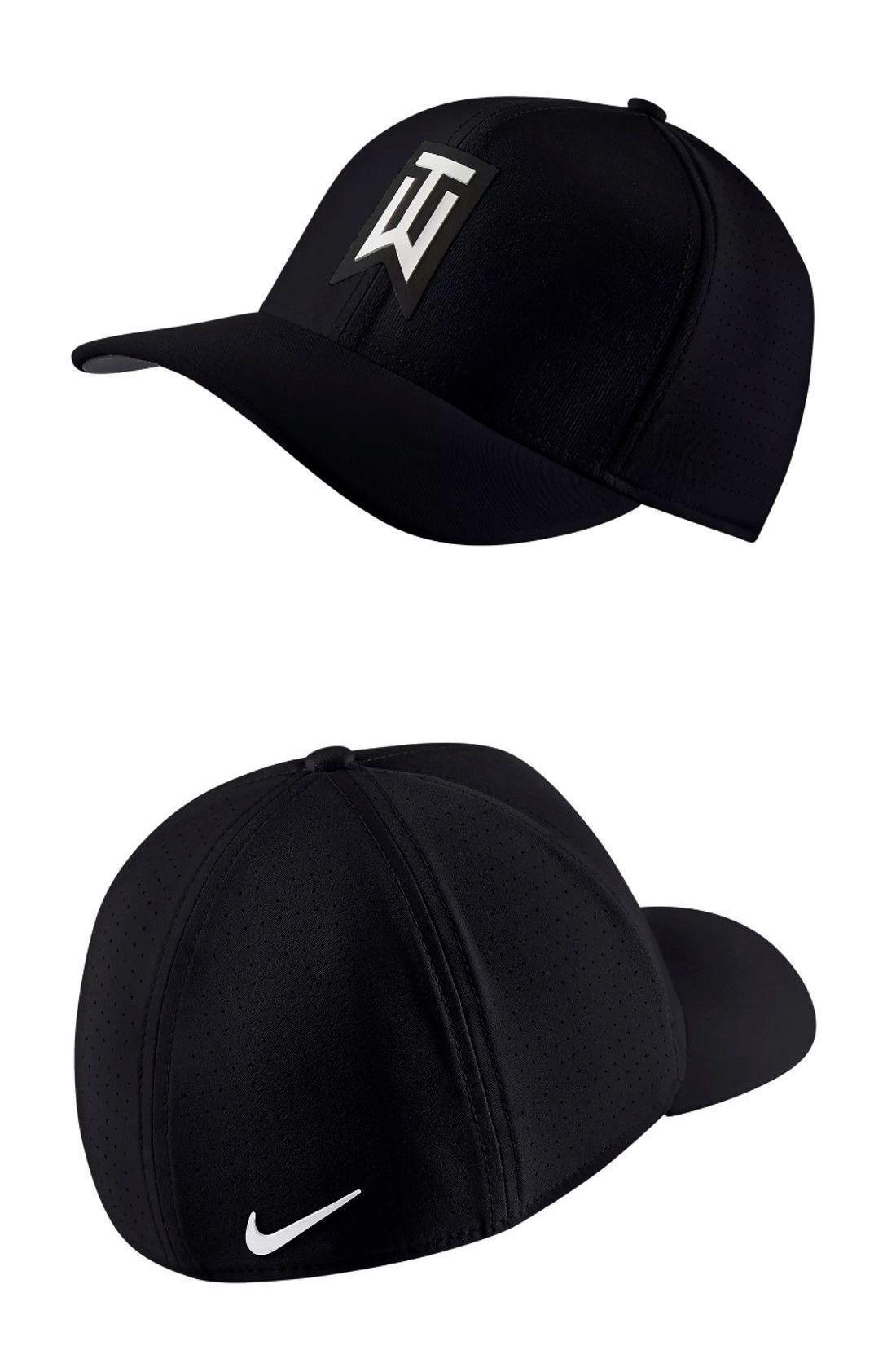 Golf Visors and Hats 158937  Nike Tiger Woods Tw Aerobill Classic99 Hat Cap  (Black 4fb99a722f6
